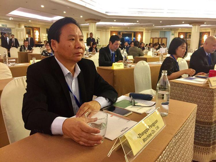 金格瑞董事长景奉国出席会议