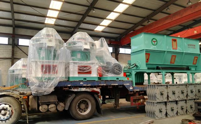 黑龙江哈尔滨秸秆颗粒机生产线