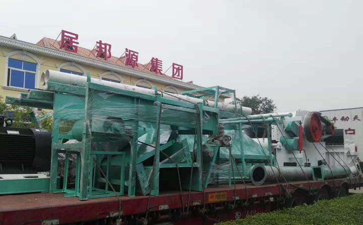 浙江温州第1车,为秸秆颗粒机设备