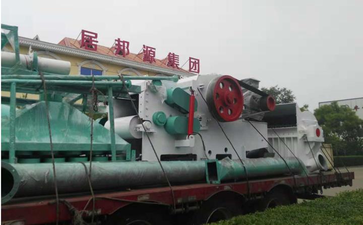 浙江温州第2车,为秸秆颗粒机设备