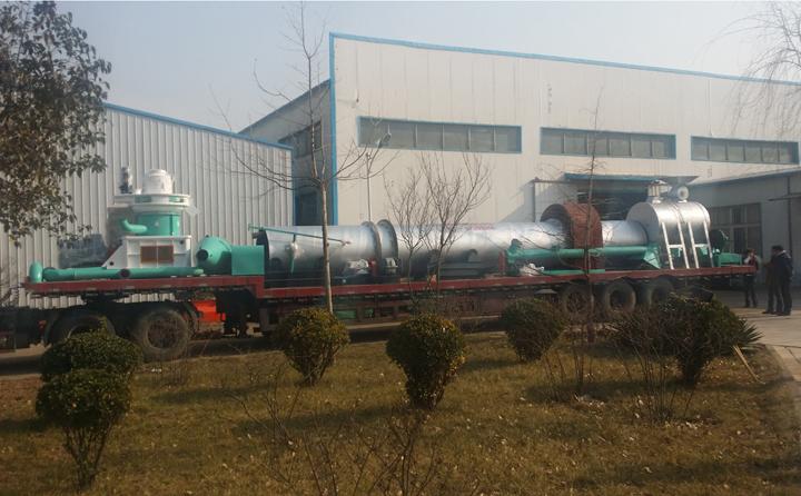 时产量2-3吨颗粒机生产线