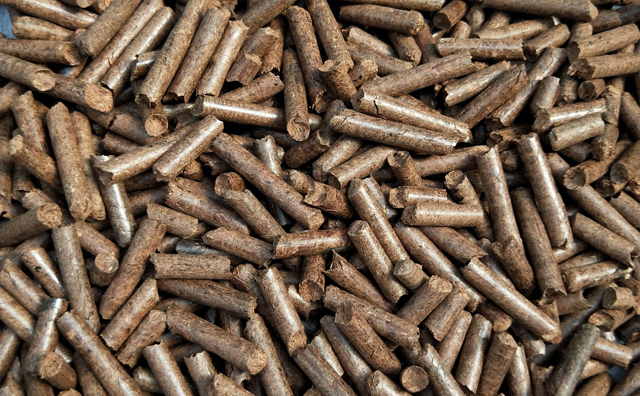 山东颗粒机生产厂家加工的颗粒燃料