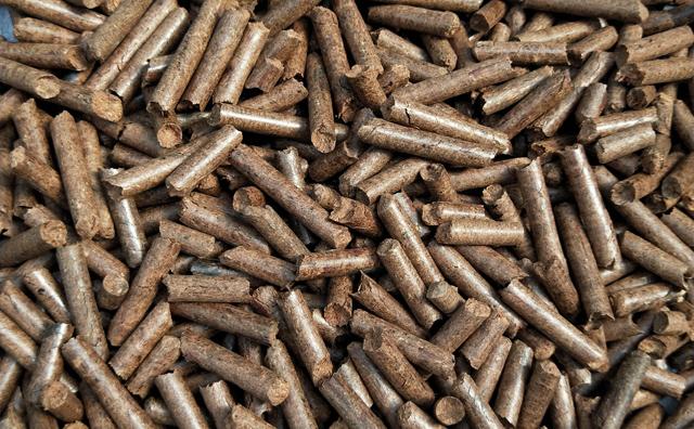生物质颗粒机加工的秸秆燃料颗粒