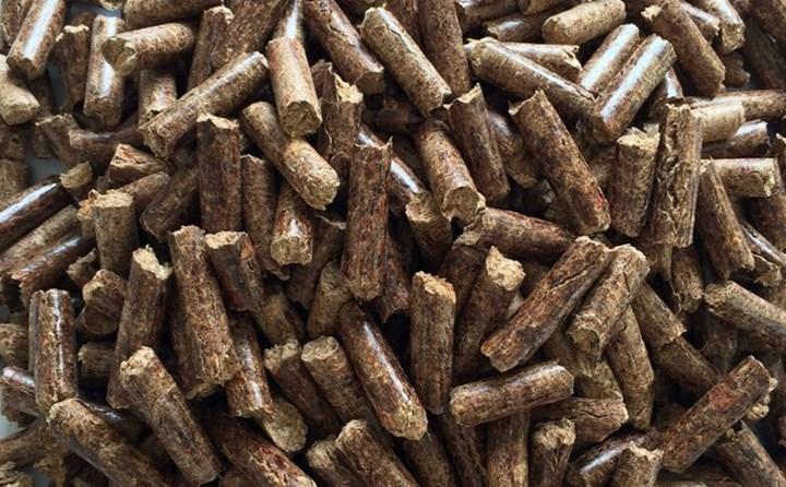河南锯末颗粒机生产的生物质能源颗粒