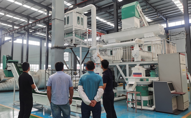 生物质燃料颗粒机生产线
